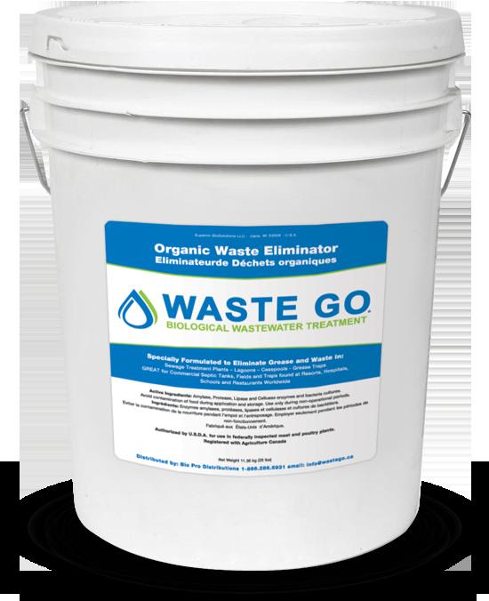 Waste Go 25lb Pail